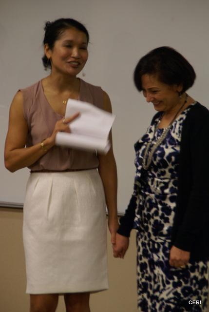 2012 Devata Giving Circle awards CERI Director, Mona Afary (3/6)